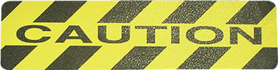 Caution Antislip Tape