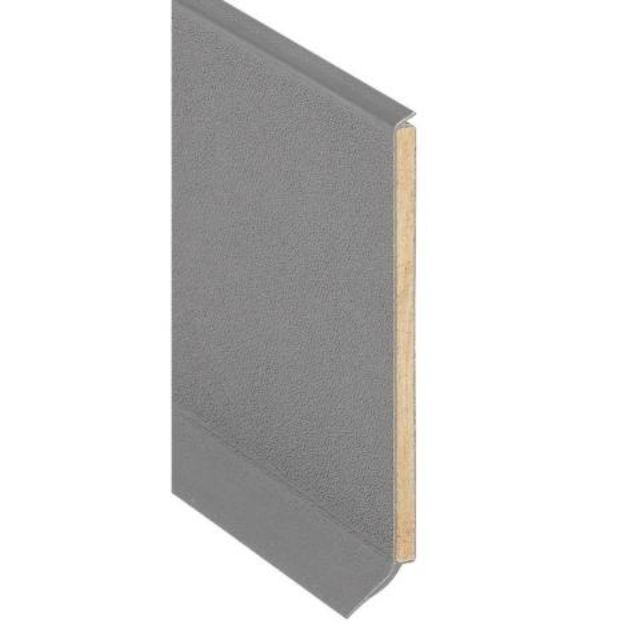 Plintprofiel pvc (houten kern)