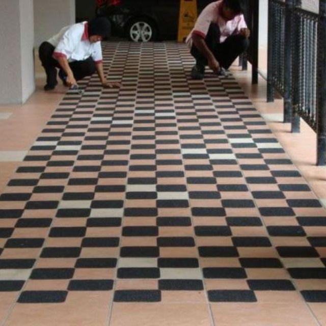 Antisliptape vloer